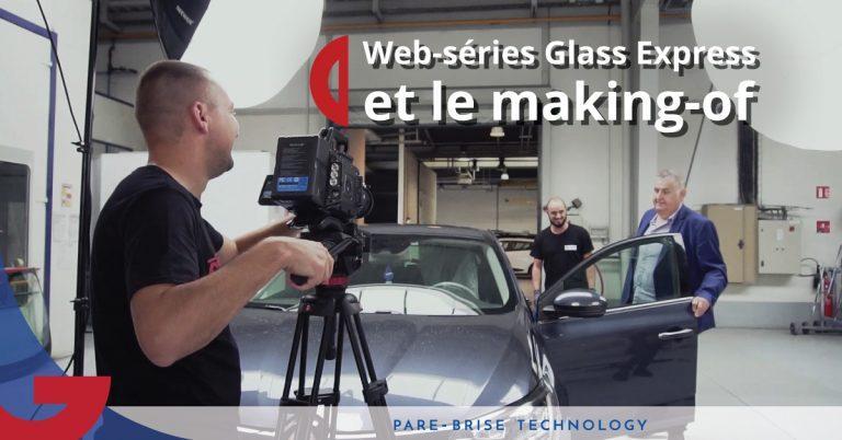 web série glass express