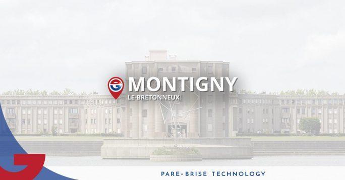Pare-brise Montigny-le-Bretonneux